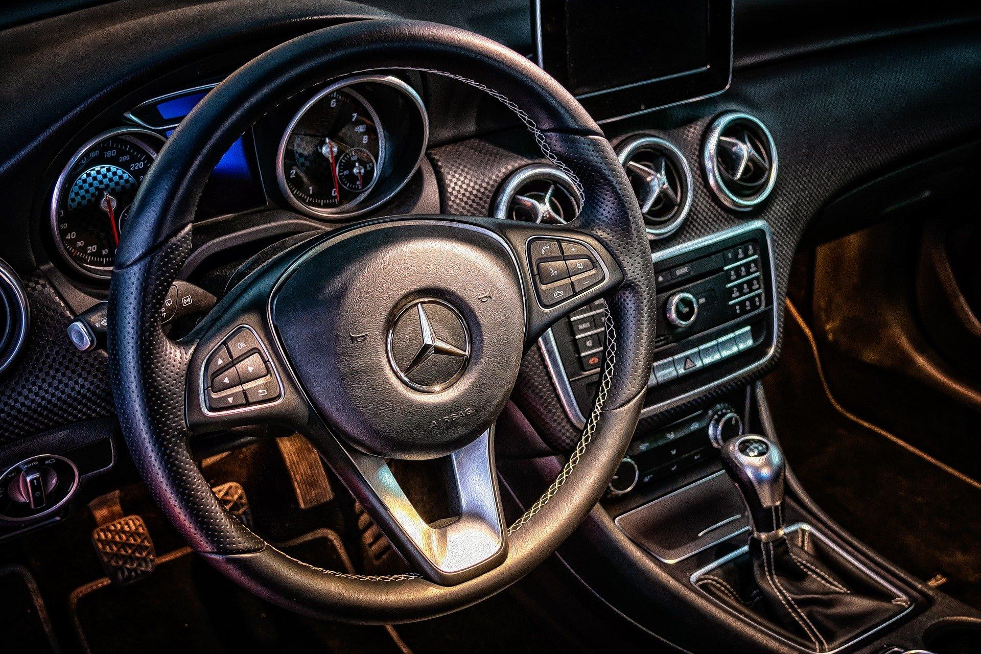 Mercedes LPG interieur - Agin BV